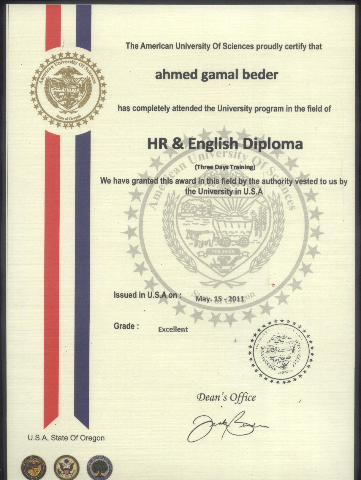 American university of sciences certificate 1betcityfo Images